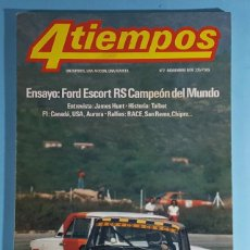 Carros: REVISTA 4 TIEMPOS Nº 2 NOVIEMBRE 1979, FORD ESCORT RS, FORMULA 1, HISTORIA TALBOT, JAMES HUNT.... Lote 263014765