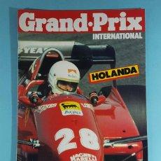 Carros: REVISTA DE FORMULA 1 GRAND PRIX INTERNATIONAL Nº 56 GRAN PREMIO DE HOLANDA 1983. Lote 263061570