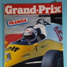 Carros: REVISTA DE FORMULA 1 GRAND PRIX INTERNATIONAL Nº 48 GRAN PREMIO DE FRANCIA 1983. Lote 263062530