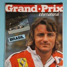 Carros: REVISTA DE FORMULA 1 GRAND PRIX INTERNATIONAL Nº 2 GRAN PREMIO DE BRASIL 1980. Lote 263080590