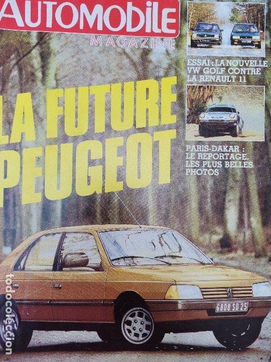 1984 REVISTA L`AUTOMOBILE - VW GOLF VS RENAULT 11 - PARIAS DAKAR - OPEL MONZA GSE (Coches y Motocicletas Antiguas y Clásicas - Revistas de Coches)