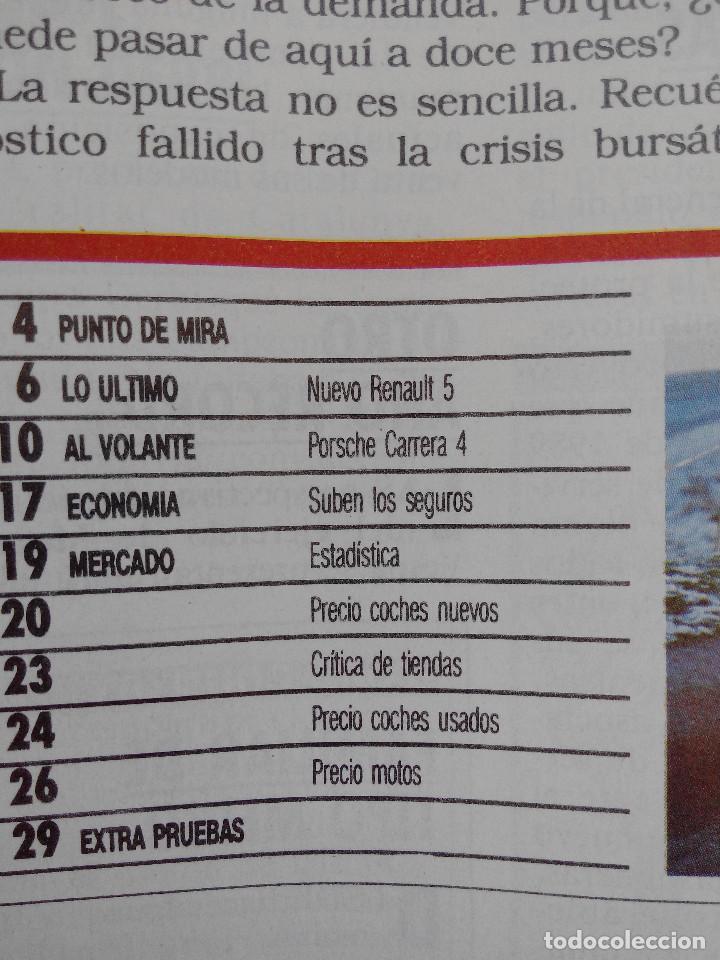 Coches: MOTOR 16 Nº 266 AÑO 1988- EXTRA PRUEBAS - Foto 2 - 268741874