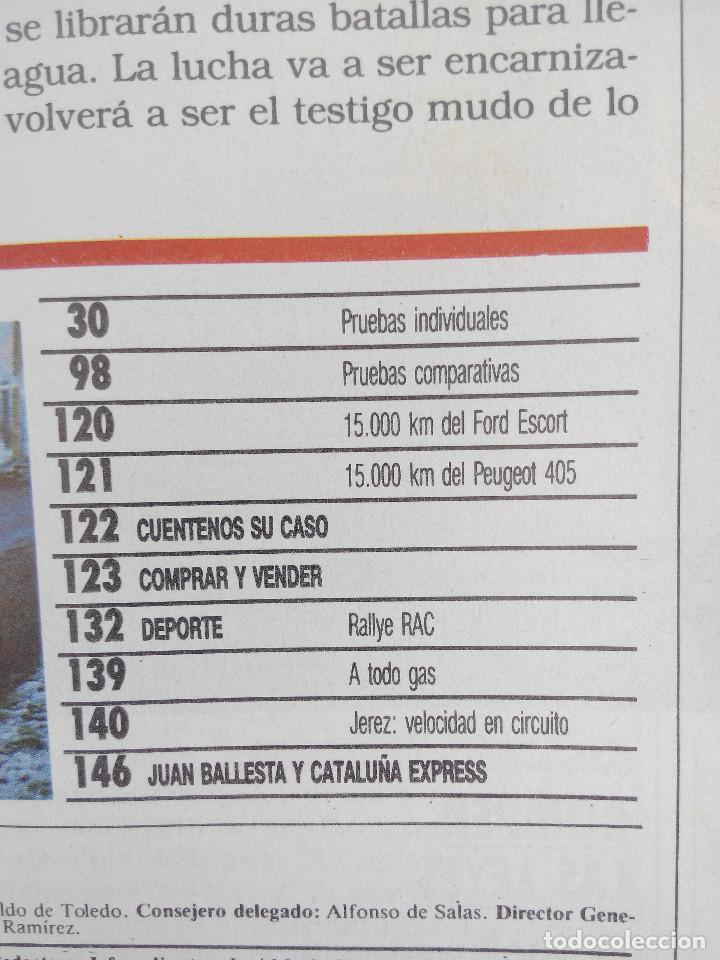 Coches: MOTOR 16 Nº 266 AÑO 1988- EXTRA PRUEBAS - Foto 3 - 268741874