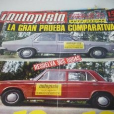 Coches: AUTOPISTA AÑO 1970 Nº 590. Lote 268879394