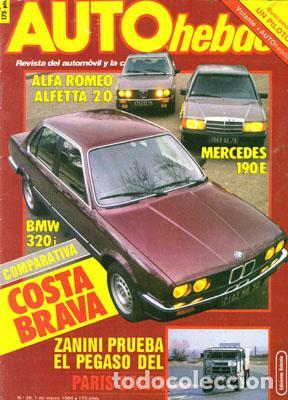 AUTO HEBDO Nº 0038 (1-03-84) (Coches y Motocicletas Antiguas y Clásicas - Revistas de Coches)