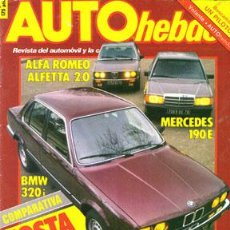 Voitures: AUTO HEBDO Nº 0038 (1-03-84). Lote 269018059