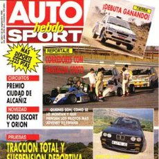 Voitures: AUTO HEBDO Nº 0283 (22-09-90). Lote 269018184