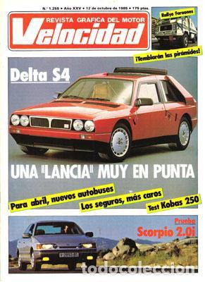 VELOCIDAD Nº 1255 (12-10-85) (Coches y Motocicletas Antiguas y Clásicas - Revistas de Coches)