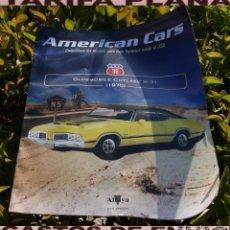 Coches: FASCICULO N 36 OLDSMOBILE CUTLASS W-31 1970 DE LA COLECCION AMERICAN CARS DE ALTAYA. Lote 269178473