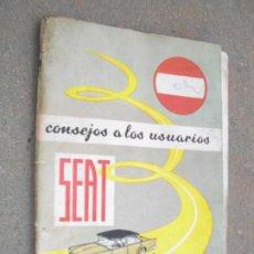 Coches: MANUAL DE SEAT. Lote 269403468