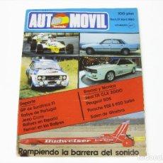 Voitures: REVISTA AUTOMÓVIL FÓRMULA Nº 27 DE ABRIL DE 1980. Lote 269451388
