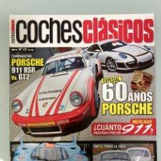 Carros: COCHES CLÁSICOS 43, PORSCHE 60 AÑÑOS, 911 CARRERA RSR , 911 GT2, 917, VW ESCARABAJO, PORSCHE 356. Lote 271959118