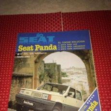 Carros: SEAT 80 - SEPTIEMBRE DE 1980 - ESPECIAL SEAT PANDA. Lote 276192108