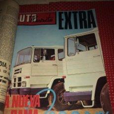Carros: NUEVA GAMA PEGASO - AUTO REVISTA - NÚMERO EXTRA - ENERO DE 1972 - 150 PÁGINAS. Lote 276205643