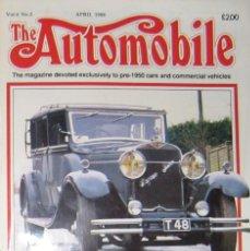 Coches: REVISTA THE AUTOMOBILE. DEDICADA A COCHES PRE-1950. NÚMERO DE ABRIL DE 1988.. Lote 276555528