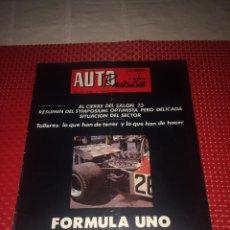 Voitures: AUTO REVISTA - Nº 829 - 28 ABRIL 1973 - FORMULA UNO G. P. DE ESPAÑA - POSTER CENTRAL SALON DEL AUTOM. Lote 276721703