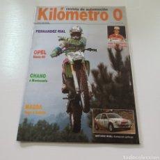 Coches: REVISTA DE AUTOMOCION KILOMETRO 0 N° 3 ENERO 1990 RALLYE GALICIA. Lote 277032353