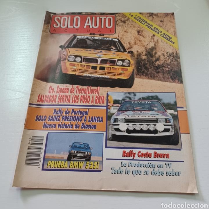 SOLO AUTO ACTUAL N° 52 RALLY COSTA BRAVA - CAMPEONATO ESPAÑA TIERRA ( LLORET ) (Coches y Motocicletas Antiguas y Clásicas - Revistas de Coches)