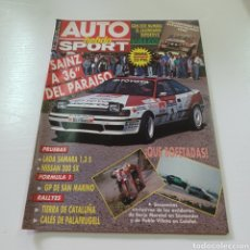 Coches: AUTO SPORT HEBDO N° 266 MAYO 1990 RALLY DE TIERRA DE CATALUÑA .... Lote 277036838