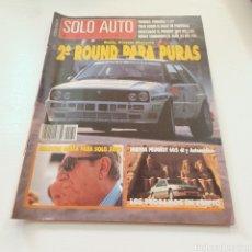 Coches: SOLO AUTO ACTUAL N° 79 MARZO 1990 RALLY PORTUGAL- SIERRA MORENA .... Lote 277037148