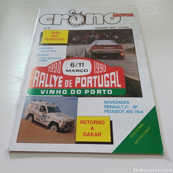 Coches: CRONO MOTOR AÑO 1990 RALLY PORTUGAL - CAMPEONATO ESPAÑA TIERRA ... - Foto 6 - 277038023