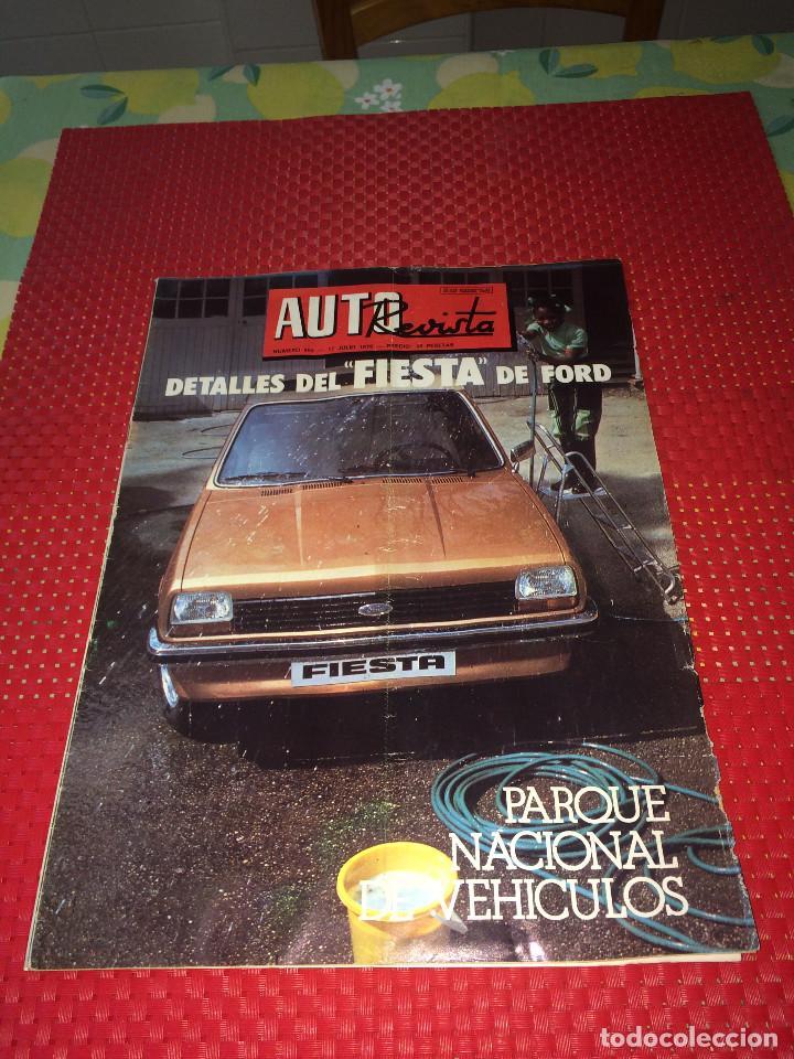 AUTO REVISTA - Nº 994 - 17 DE JULIO DE 1976 - DETALLES DEL FORD FIESTA (Coches y Motocicletas Antiguas y Clásicas - Revistas de Coches)