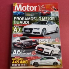 Coches: MOTOR 16 Nº 1604 AÑO 2014 - IMPECABLE ESTADO. Lote 283899583