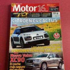 Coches: MOTOR 16 Nº 1607 AÑO 2014 - IMPECABLE ESTADO. Lote 283899788