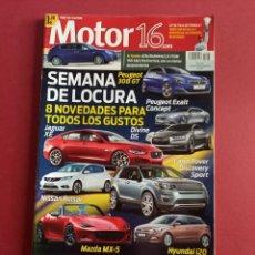 Coches: MOTOR 16 Nº 1608 AÑO 2014 - IMPECABLE ESTADO. Lote 283899868