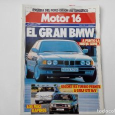 Carros: MOTOR 16 Nº 150 AÑO 1986- FORD ESCORT RS TURBO - GOLF GTI 16V- FORD ORION AUTOMATICO - GAMA RANGE RO. Lote 285624958