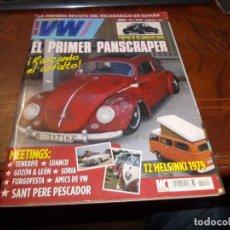 Coches: SUPER VW Mº 24 LA PRIMERA REVISTA DEL ESCARABAJO EN ESPAÑA. Lote 287768018