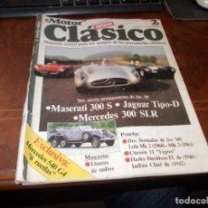 Carros: MOTOR CLÁSICO 2, 1.986, PORTADA CON ROTURA EN EL LOMO. Lote 287772048