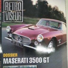 Coches: 1997 REVISTA RETRO VISEUR - MASERATI 3500 GT - MGB GT - LANCIA FULVIA ZAGATO. Lote 288050168