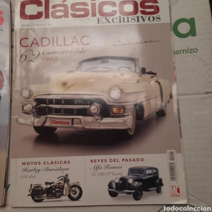2 REVISTAS CLÁSICOS EXCLUSIVOS N. 1 Y 15 (Coches y Motocicletas Antiguas y Clásicas - Revistas de Coches)