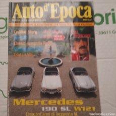 Coches: REVISTA AUTO D ÉPOCA AUTOMOVIL MERCEDES BENZ. Lote 288535858
