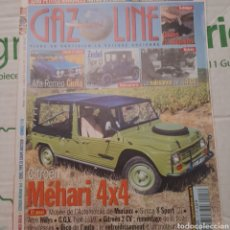 Coches: REVISTA GAZOLINE AUTOMOVIL CITROEN MEHARI. Lote 288536238