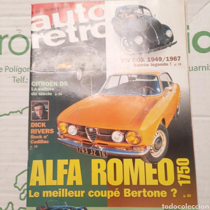 REVISTA AUTOMOVIL AUTO RETRO DE 2000 (Coches y Motocicletas Antiguas y Clásicas - Revistas de Coches)