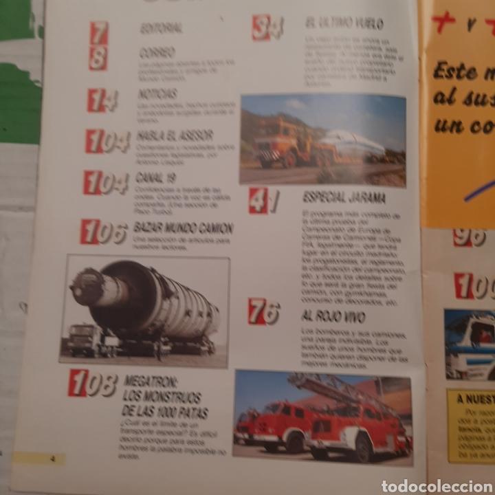 Coches: Revista mundo camion n. 6 bomberos carrera jarama - Foto 2 - 288539078