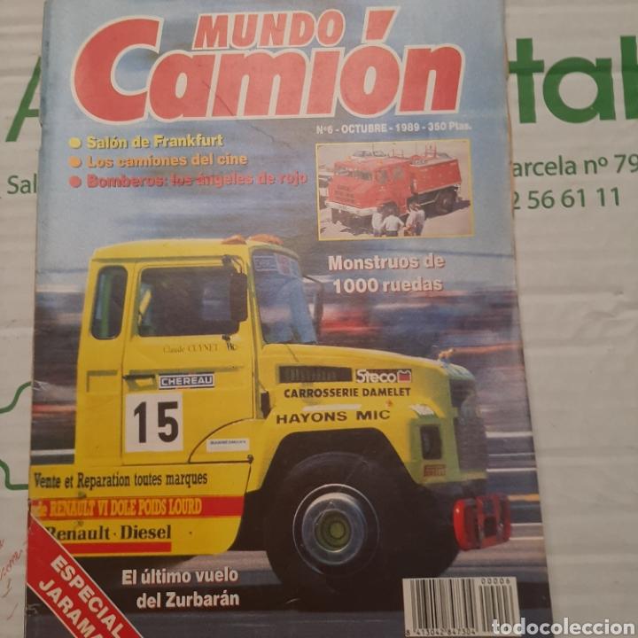 REVISTA MUNDO CAMION N. 6 BOMBEROS CARRERA JARAMA (Coches y Motocicletas Antiguas y Clásicas - Revistas de Coches)