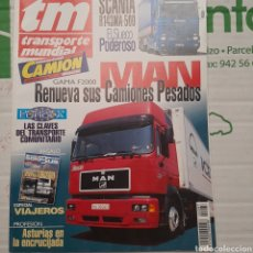 Coches: REVISTA TRANSPORTE MUNDIAL N. 87 DE 1994 CAMION SCANIA MAN. Lote 288701418