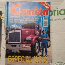 Coches: REVISTA CAMION N. 49 DE 1993 FIAT BOMBEROS. Lote 288963778