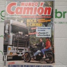 Carros: REVISTA MUNDO CAMION N. 34 DE 1992 PETERBILT IVECO. Lote 288965188