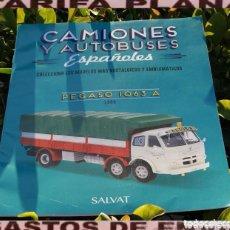 Auto: FASCICULO Nº2 PEGASO 1063 A 1968 DE LA COLECCION CAMIONES Y AUTOBUSES ESPAÑOLES DE SALVAT. Lote 289492033