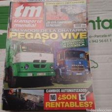 Coches: REVISTA TRANSPORTE MUNDIAL N. 254 DE 2008 CAMION PEGASO. Lote 289804818