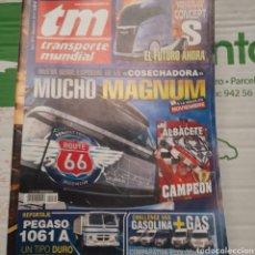 Coches: REVISTA TRANSPORTE MUNDIAL N. 279 DE 2010 CAMION PEGASO. Lote 289805213
