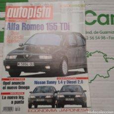 Coches: REVISTA AUTOPISTA N. 1791 DE 1993 AUTOMOVIL. Lote 289867563