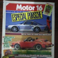 Auto: MOTOR 16 Nº 294 - JUN 1989 - ESPECIAL PORSCHE. 959 / 911 SPEEDSTER / 944 S2 CABRIO. Lote 293497603