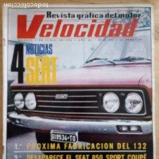 Coches: REVISTA GRÁFICA DEL MOTOR VELOCIDAD - Nº 560 JUNIO 1972. Lote 293928753