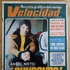 Coches: REVISTA GRÁFICA DEL MOTOR VELOCIDAD - Nº 557 MAYO 1972. Lote 293929153