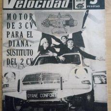 Coches: REVISTA GRÁFICA DEL MOTOR VELOCIDAD - Nº 332 ENERO 1968. Lote 293929703